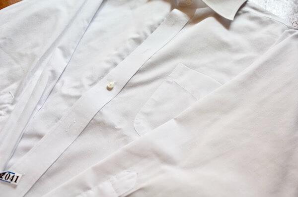 ネクシーでアイロンがけしてもらったワイシャツ