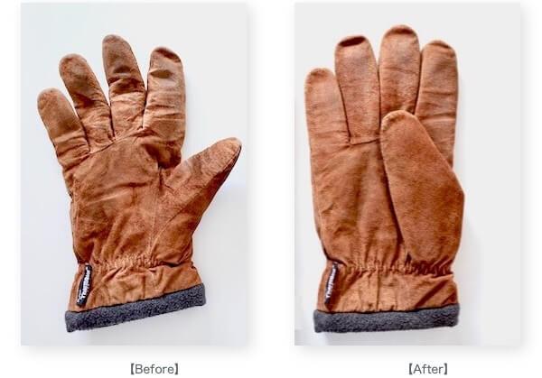 手袋の形の変化