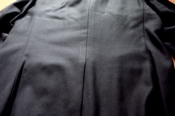 ホワイト急便でクリーニングした礼服ジャケット