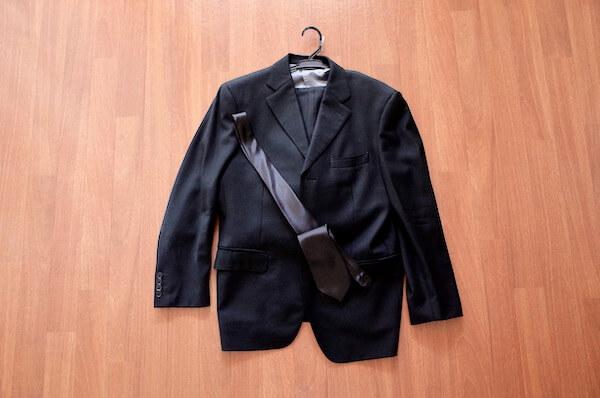 法事で着用した礼服