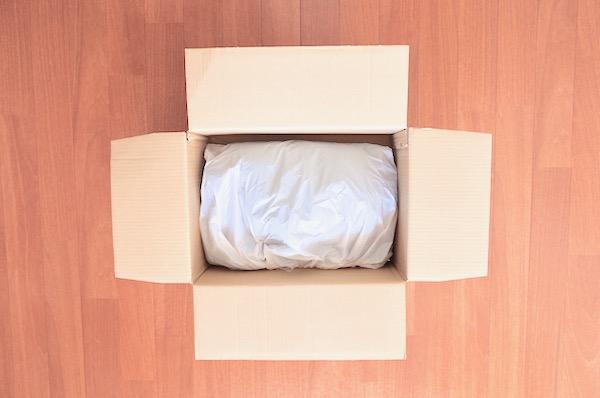 ホワイト急便に送る服の梱包
