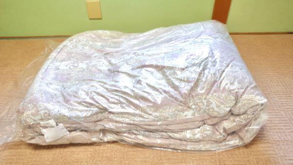 クリーニングした羽毛布団