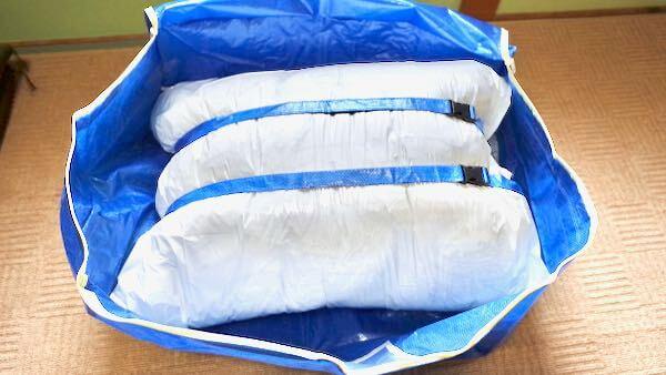 布団の宅配クリーニングの流れ-梱包