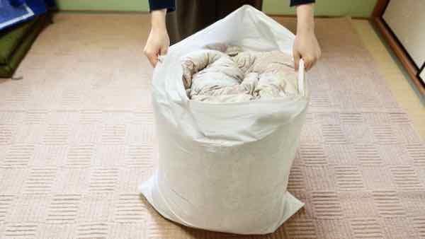 フレスコ布団の梱包