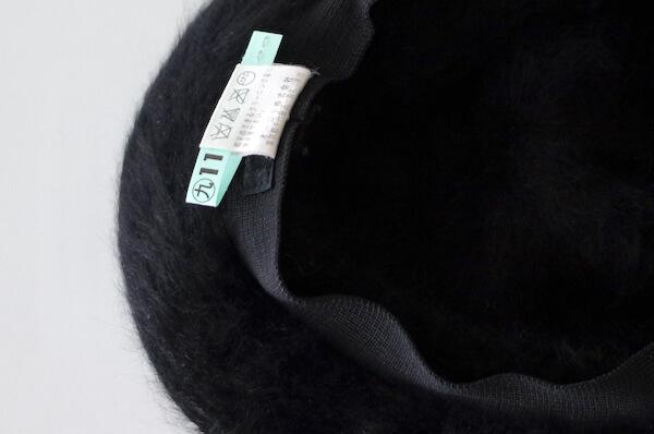 クリーニング後の帽子(内側)
