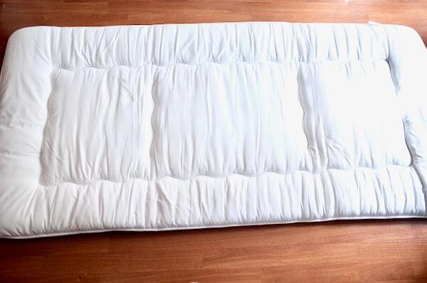 オンダクリーニングで洗ってもらった布団