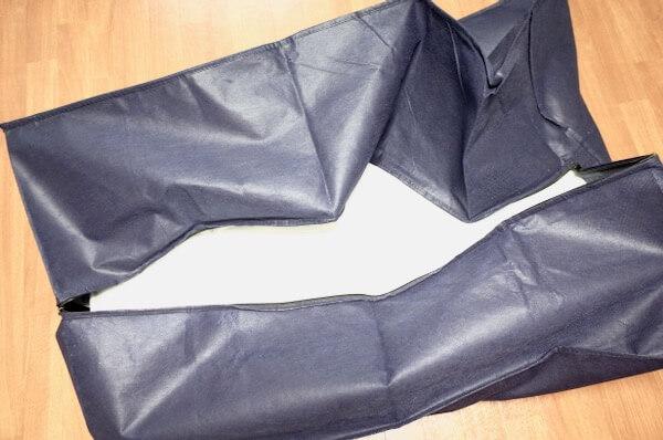 オンダクリーニングの布団バッグ
