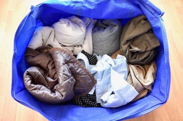 washclosetのバッグのサイズ感をテスト