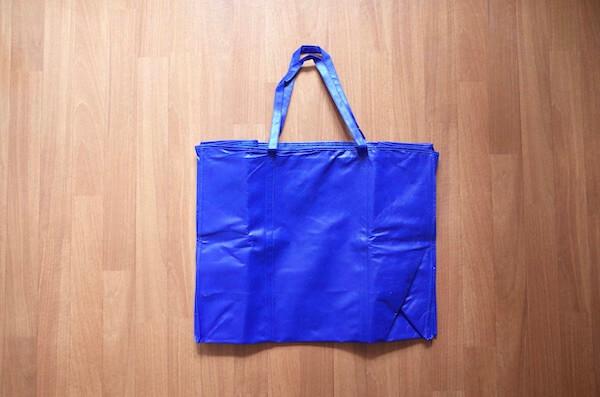 washclosetの梱包バッグ